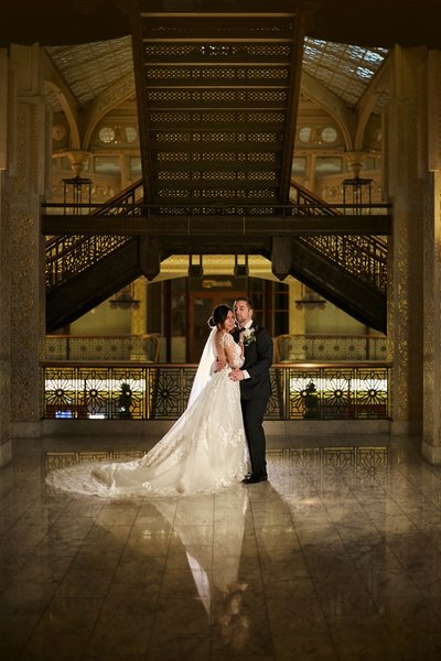 Rookery building wedding photography
