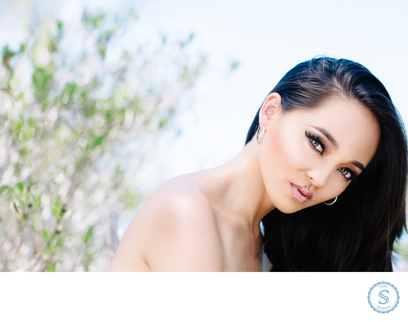 Beauty Photographer Bahamas Asian Model