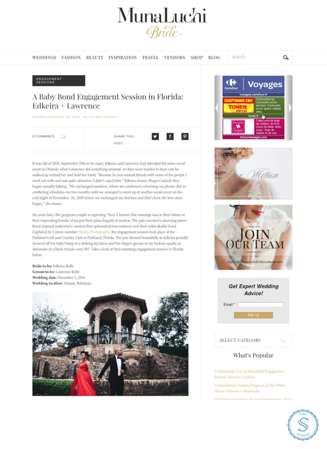 Parkland Florida Engagement Session Published