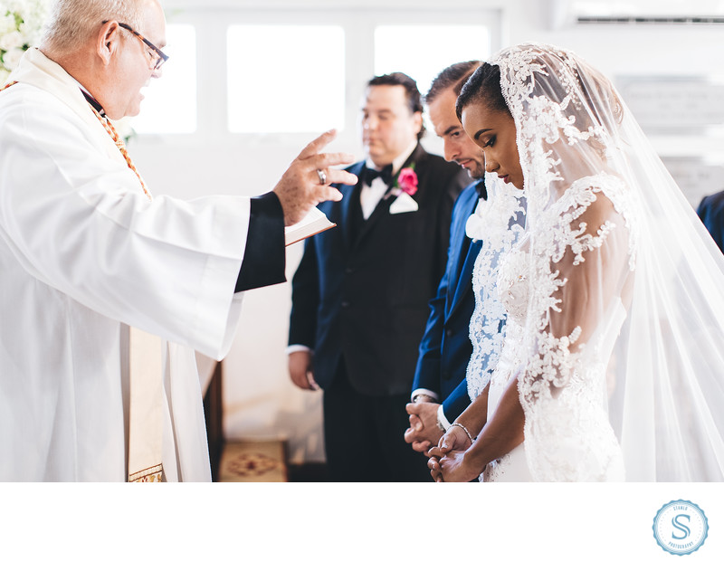 Bahamas Anglican Wedding