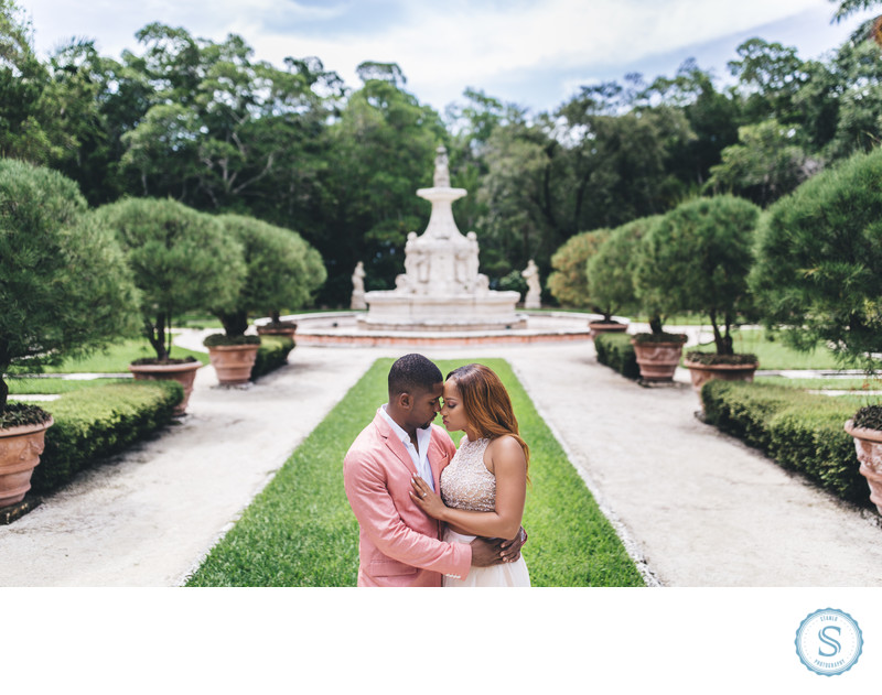 Vizcaya Museum Engagement Photographers