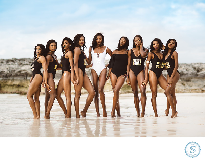 Shaunae Miller Beach Bachelorette Photos-2.