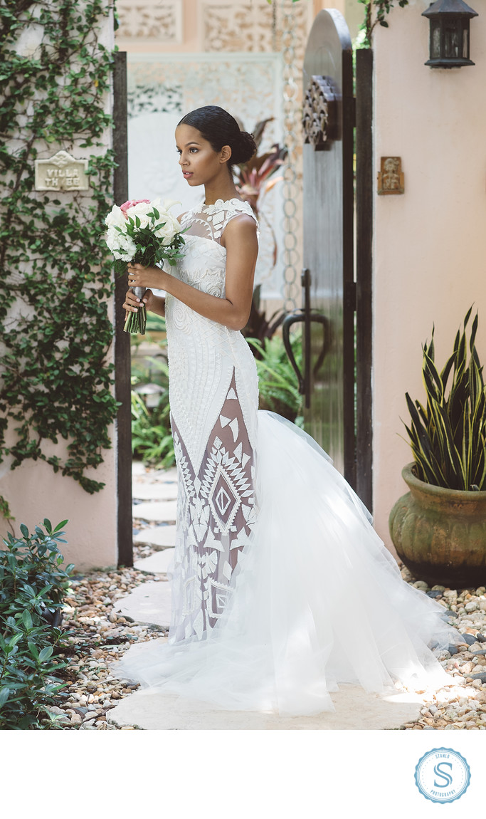 PE Design Wedding Dress