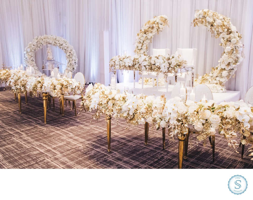 Toronto Wedding Decor Table