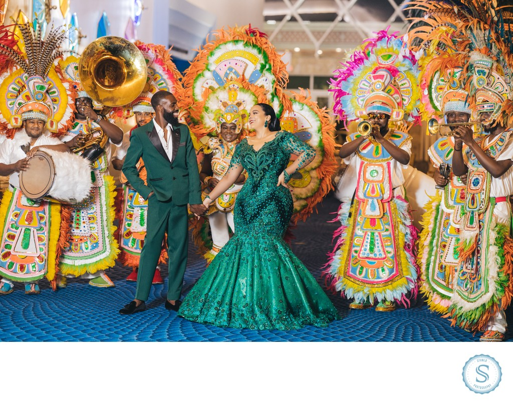 Bahamar Junkanoo Wedding