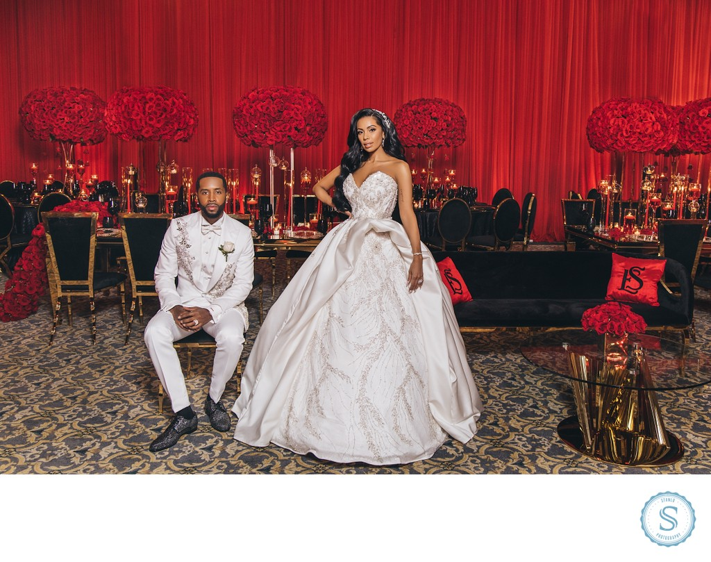 Erica Mena Safaree Wedding