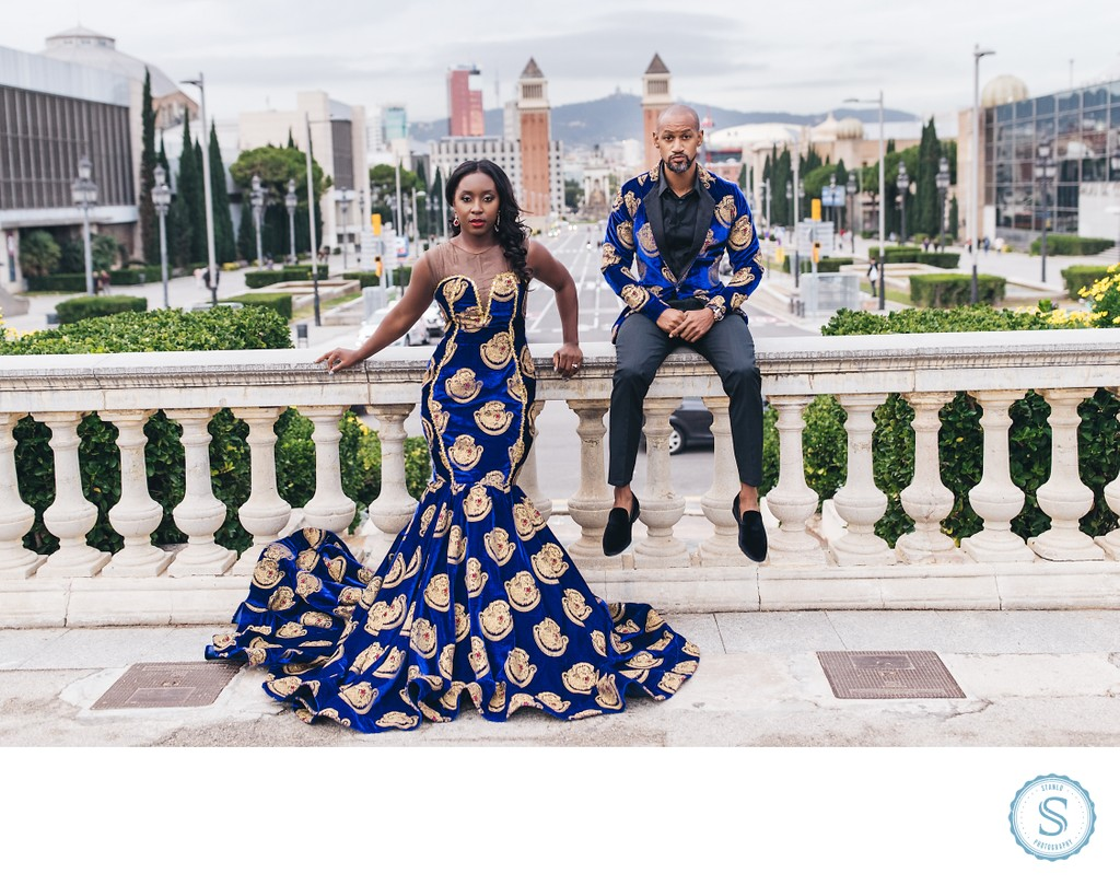 Barcelona Engagement African