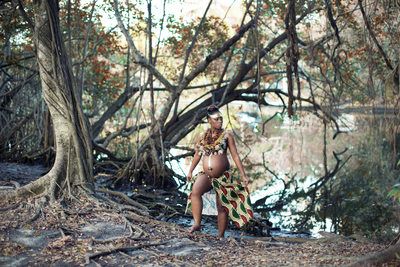 Maternity African Theme Photo