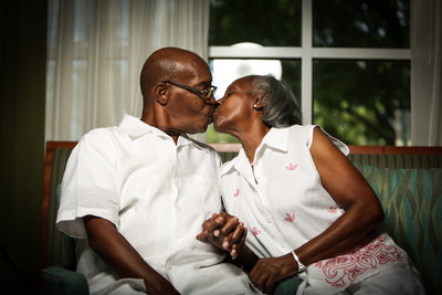 Old Couple Love Photo