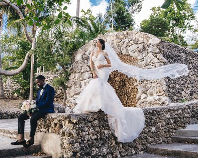 Botanical Gardens Bahamas Wedding