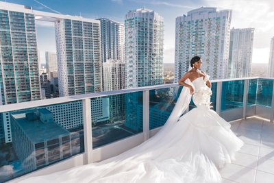 Epic Hotel Miami Wedding Photographer