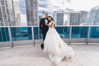 Epic Hotel Skyline Wedding