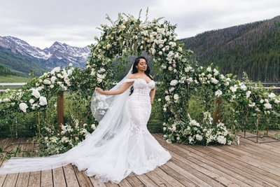 NFL Vail Colorado Bride