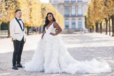 Tuileries Garden Wedding
