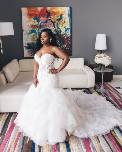 Vince Williams NFL Wedding