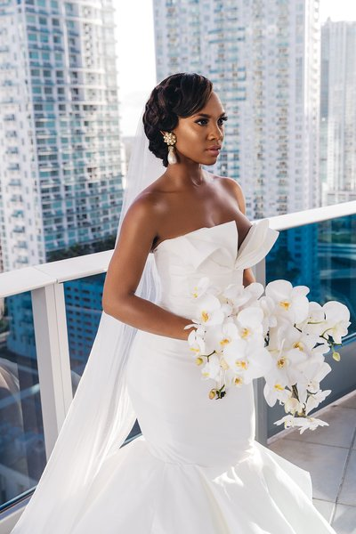 Epic Hotel Bridal Portrait