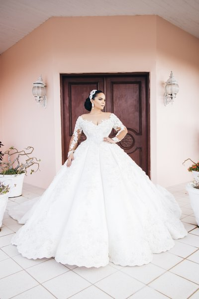 Leo Almodel Wedding Dress