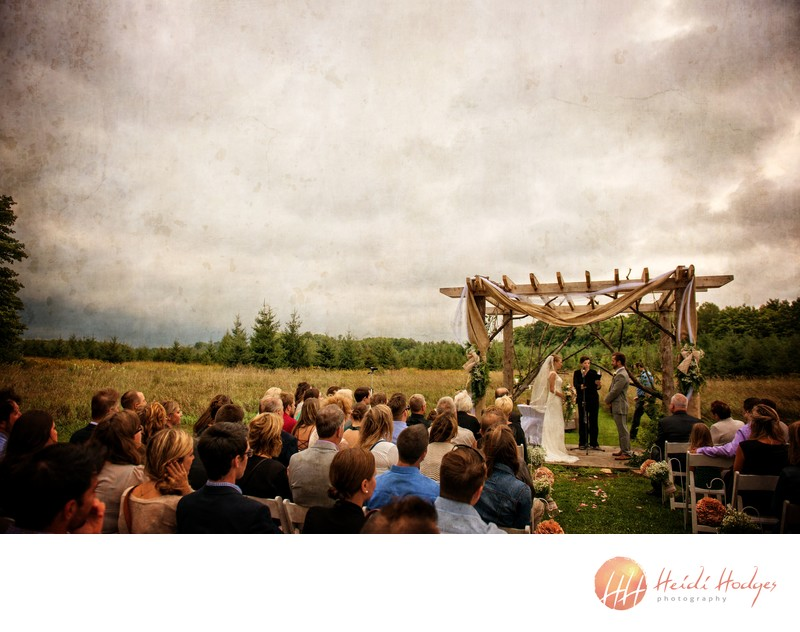 Vows under the clouds