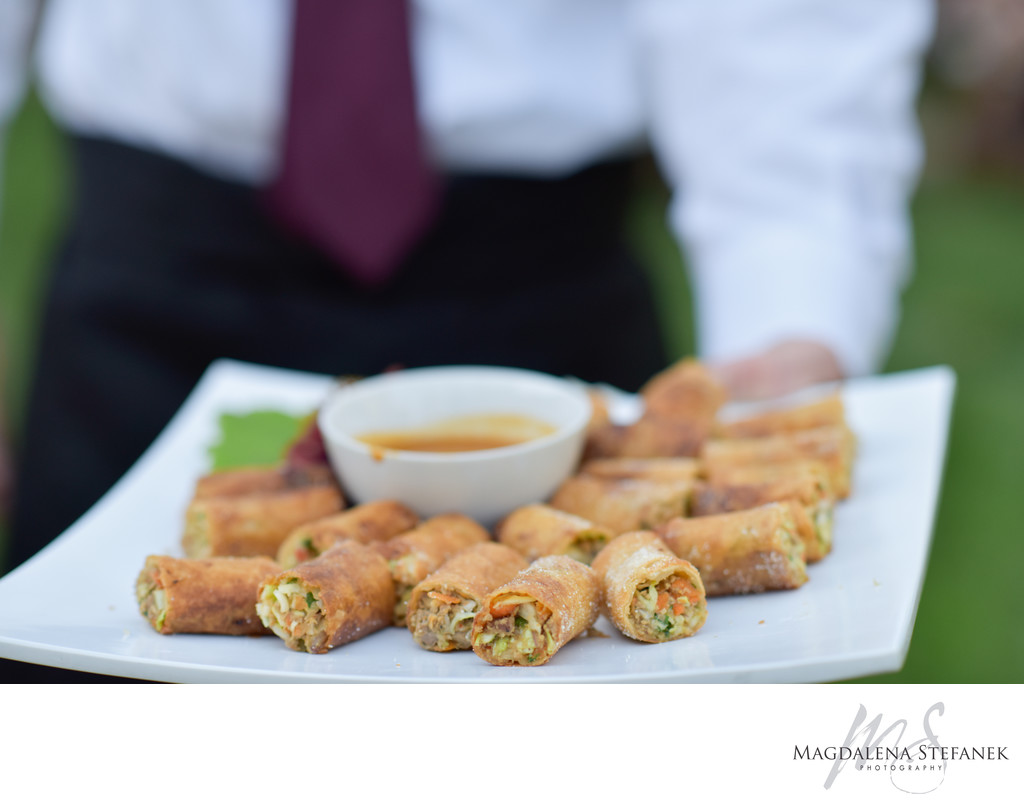 Park Avenue catering appetizers