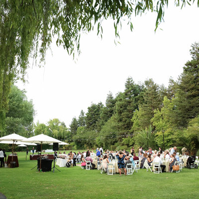 Cline Cellars Sonoma wedding reception