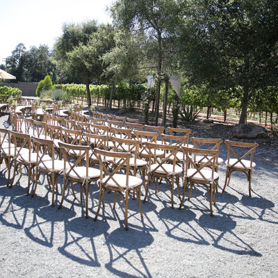Calistoga Ranch Wedding Ceremony Site
