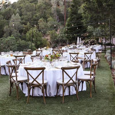 Calistoga Ranch Wedding Reception