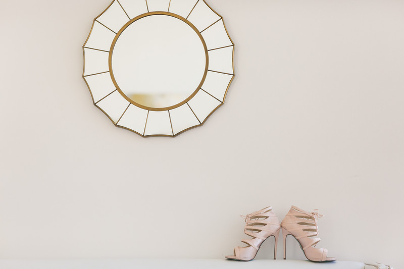 pink shoes - best raleigh wedding photographer