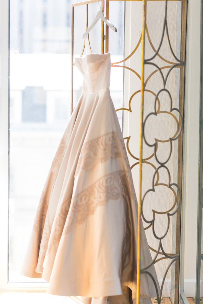bridal gown from gilded bridal raleigh