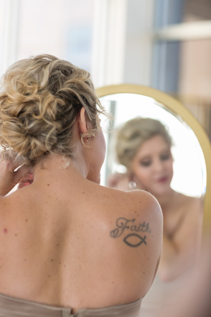 Faith - Bridal Portraits- Raleigh-Glass Box