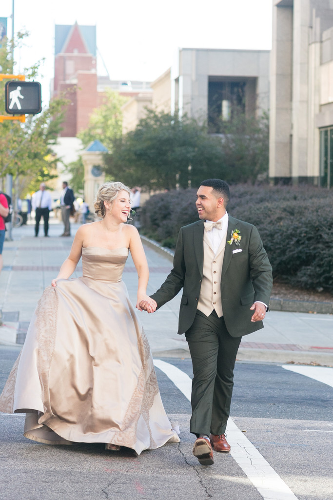 downtown raleigh wedding stroll stockroom at 230