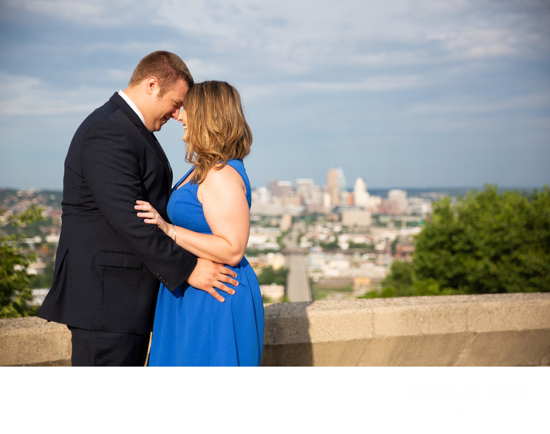 Summer Engagement Session in Olden View Park