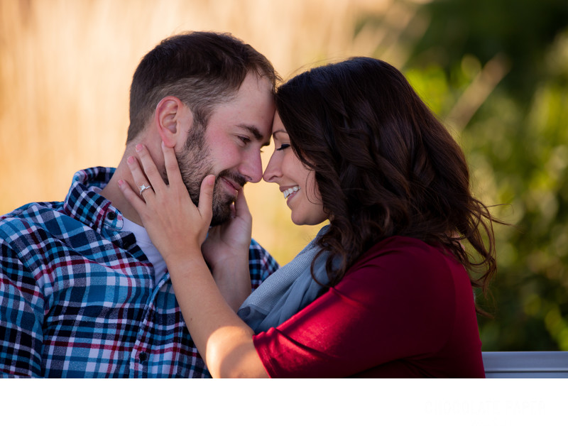 Fall Engagement Session at Smale Park