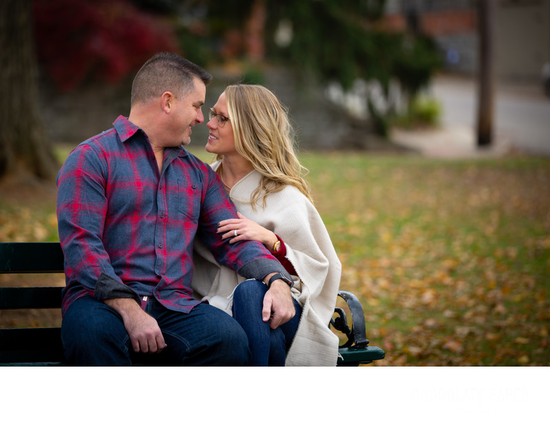 Fall Engagement Session along the Ohio River