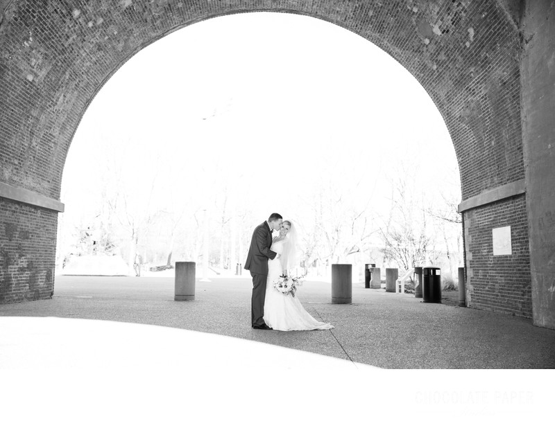 Classic Winter Wedding at Drees Pavilion