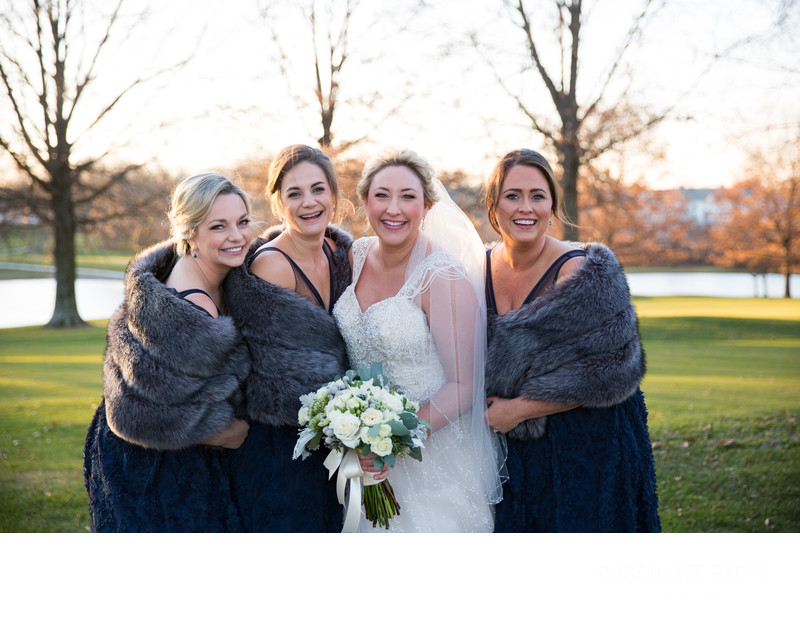 Winter Wedding at Summit Hills Country Club