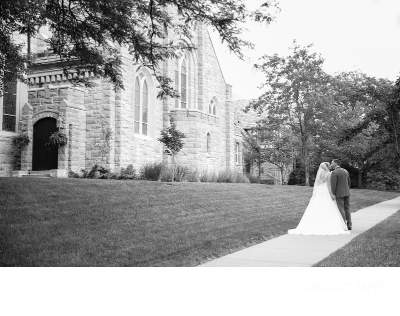 Summer Catholic Wedding in Cincinnati