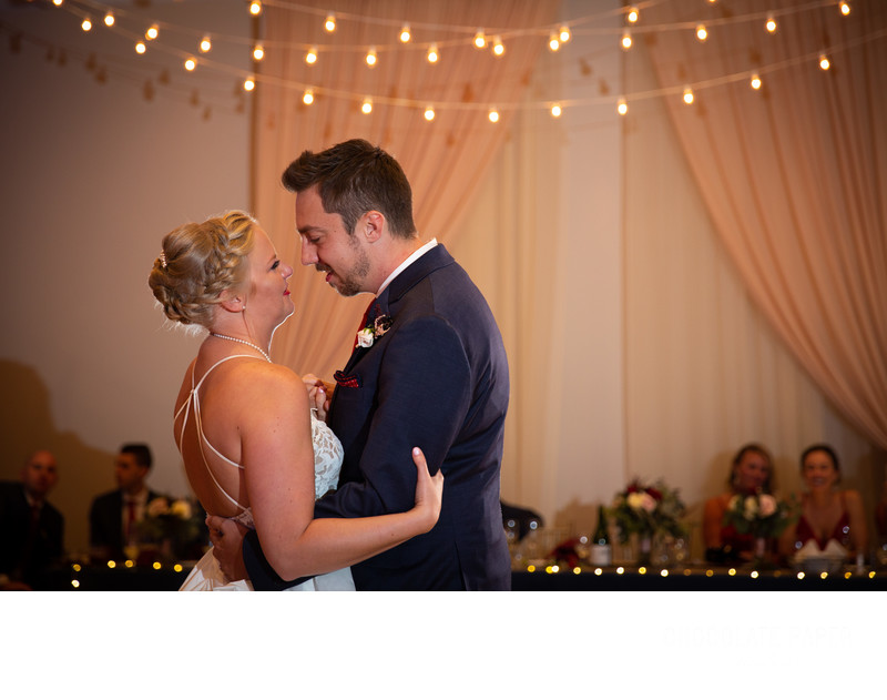 Romantic Wedding at The Center Cincinnati