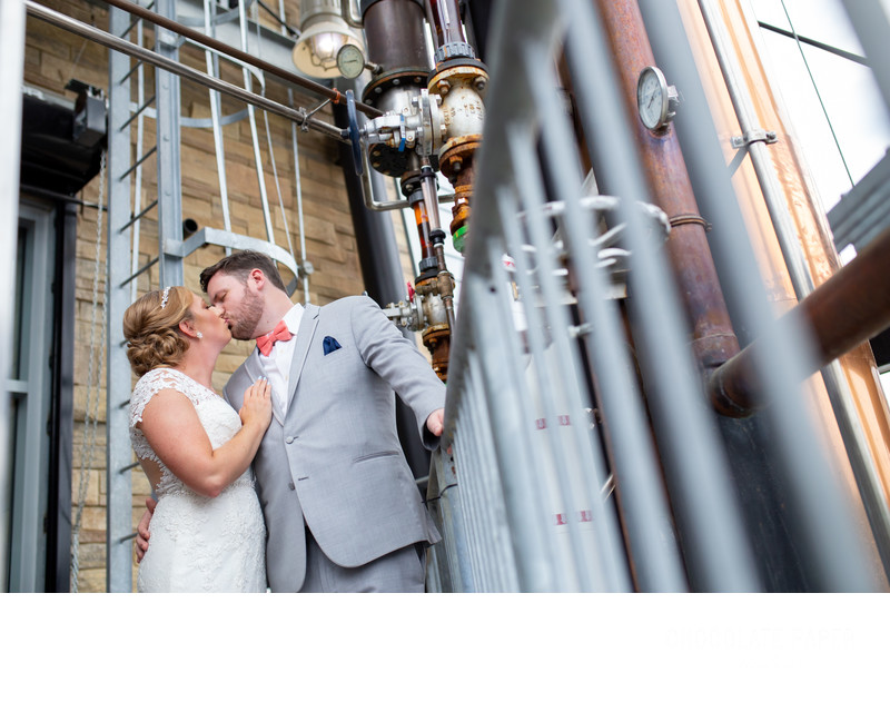 It's Miller Time: A New Riff Distillery Wedding in Newport, KY