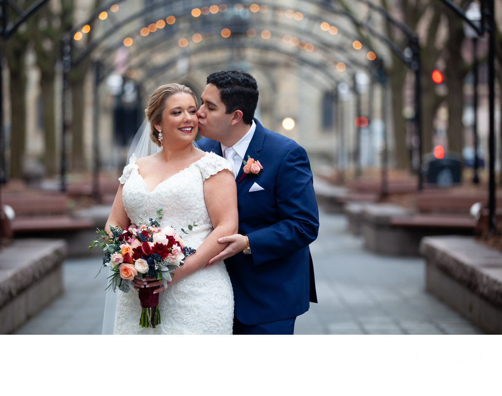 Winter Wedding at The Cincinnati Club