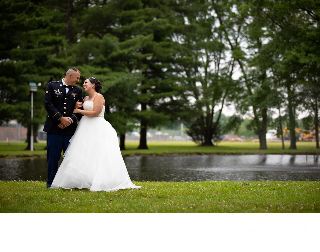 Tori and Jerry's Backyard Wedding in Loveland, Ohio