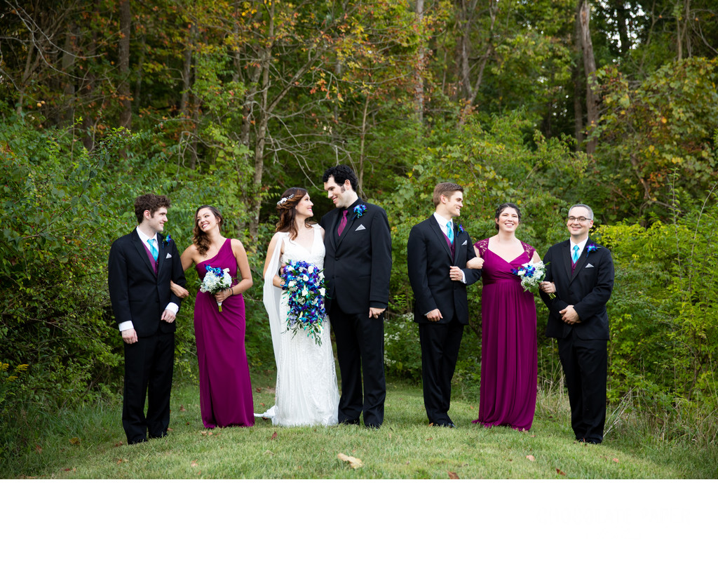 Nathanael Greene Lodge Summer Wedding