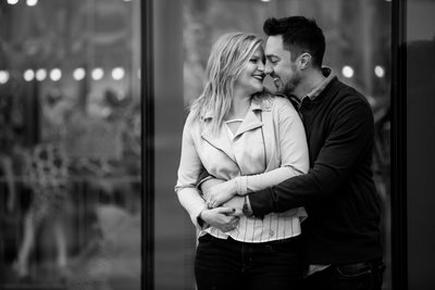 Winter Engagement Session at Smale Park