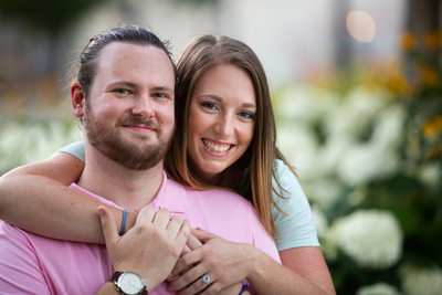 Summer Engagement Session in Smale Park