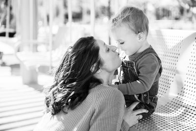 Mommy & Me Session at Smale Park