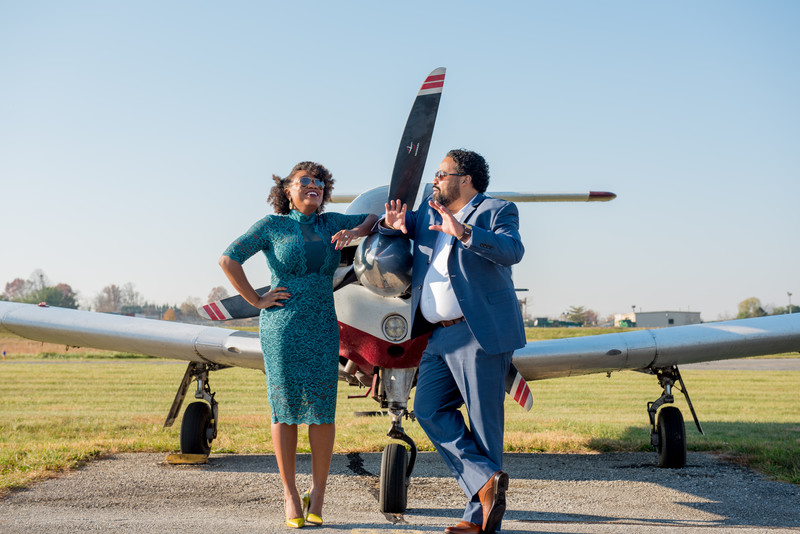 Montgomery County Airpark Engagement Session