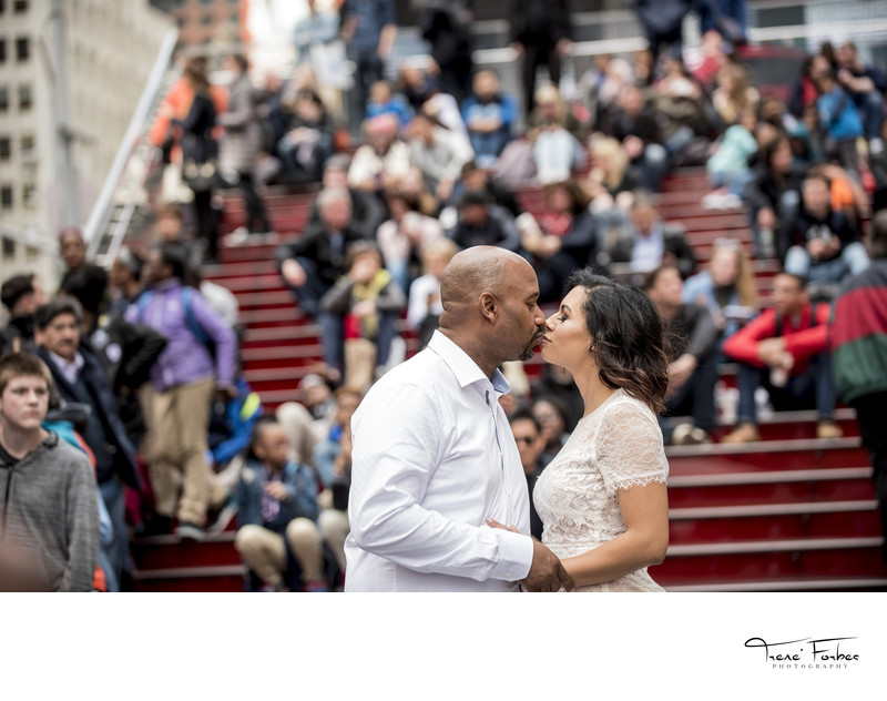 Best New York Engagement Photographer- Trene' Forbes