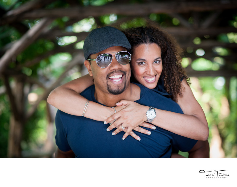 Central Park Engagement Photographer- Trene' Forbes