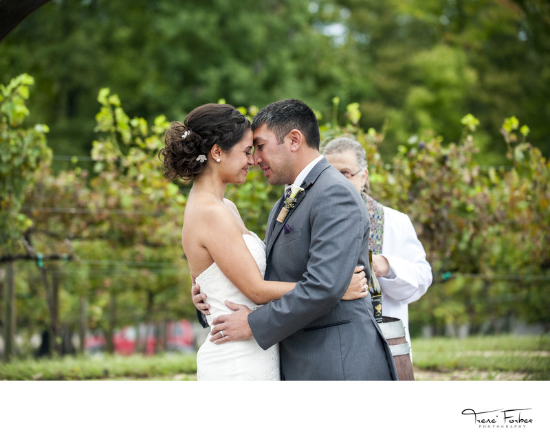 Running Hare Vineyard Wedding | Trene Forbes Photograph