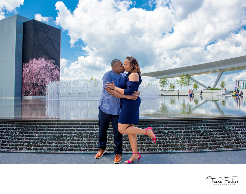 MGM National Harbor Engagement Photographer