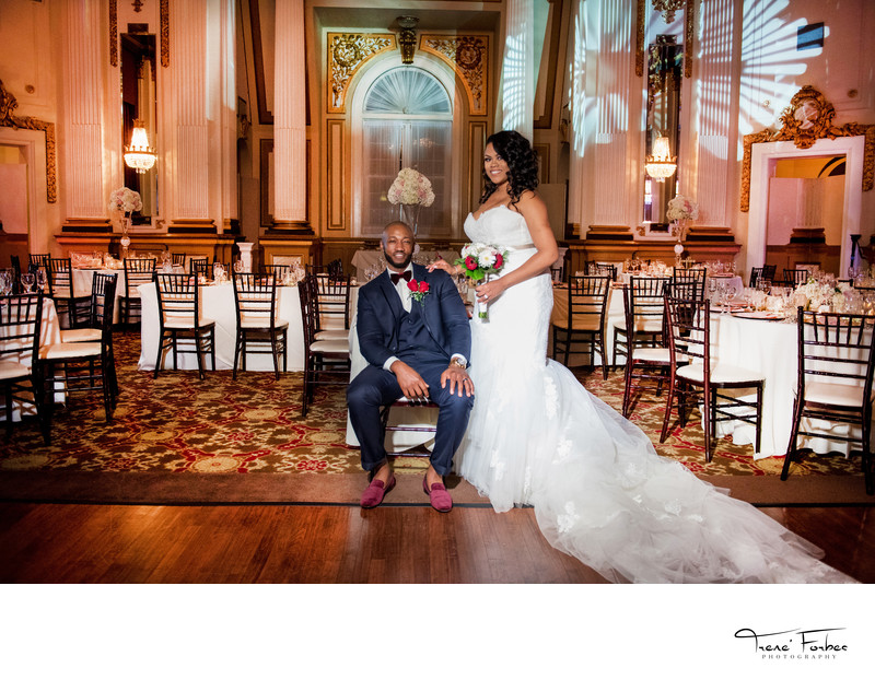 Trene' Forbes Photography Belvedere Baltimore Hotel Wedding